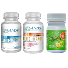 ANDS Colon Cleanse & ANDS Elite Impact & Garcinia