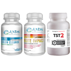 ANDS Colon Cleanse & ANDS Elite Impact & TST 2